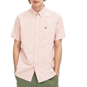 Lacoste Pink Short Sleeve Shirt